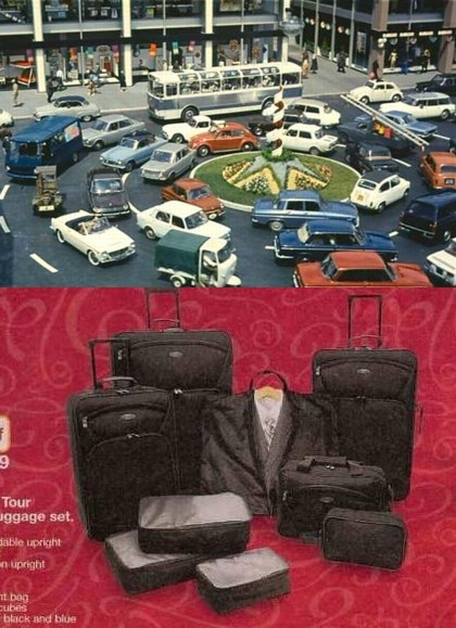 9 piece luggage set