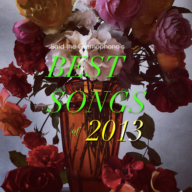 Said the Gramophone's Best Songs of 2013 - original photo by Nick Knight