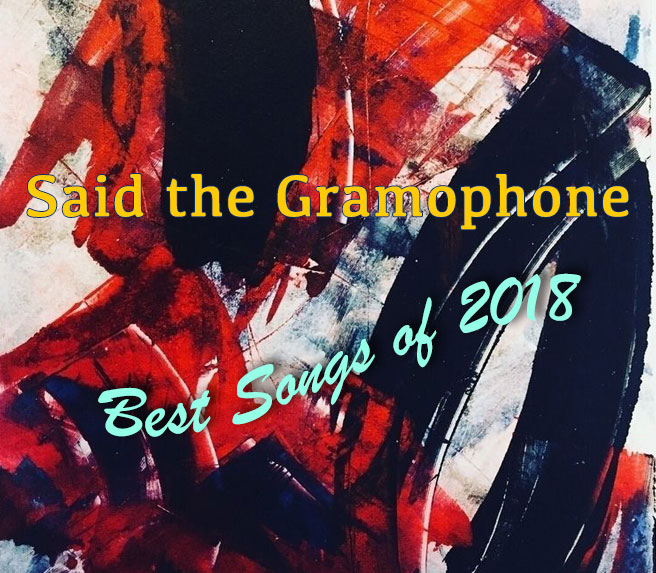 Said the Gramophone's Best Songs of 2018 - original painting source unknown