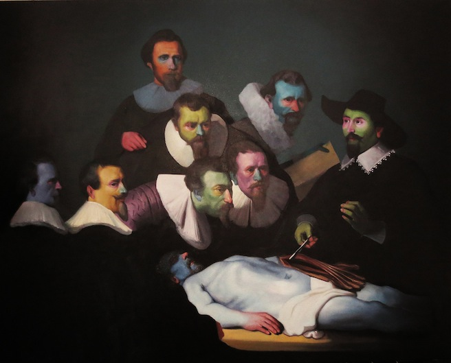 Anatomy Lesson, by Patrick Henne