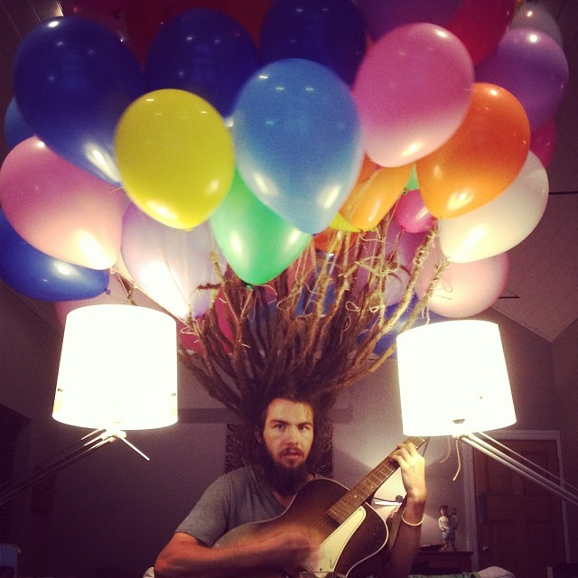 Balloon hair