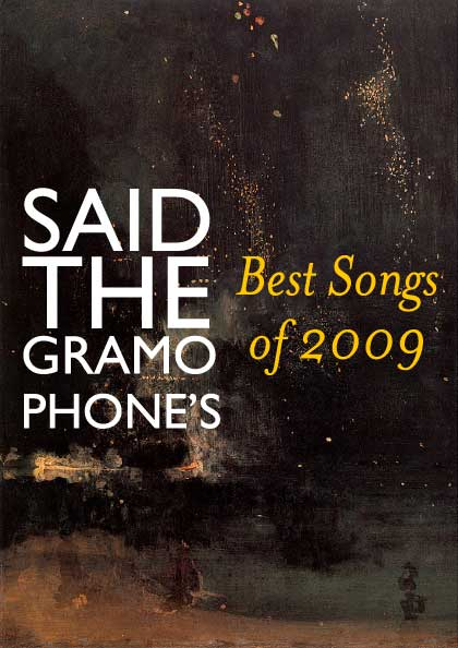 Said the Gramophone's Best Songs of 2009 - James McNeill Whistler's 'Nocturne in Black and Gold: Te Falling Rocket'