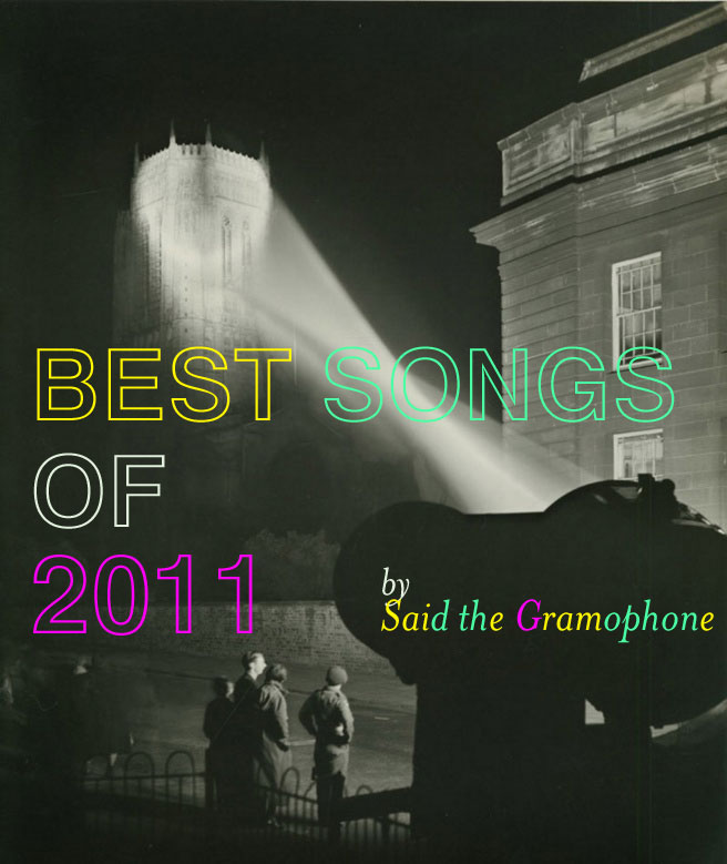 Said the Gramophone's Best Songs of 2011 - Edward Chambre Hardman's 'Searchlight on Anglican cathedral' (1951)