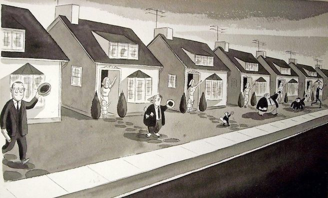 Image by Charles Addams
