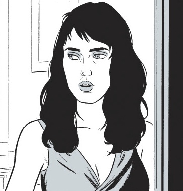 Jennifer Connelly by Adrian Tomine