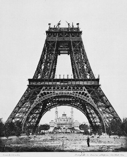 Construction of the Eiffel