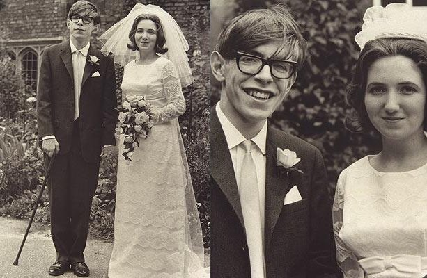 Stephen Hawking and Jane Wild
