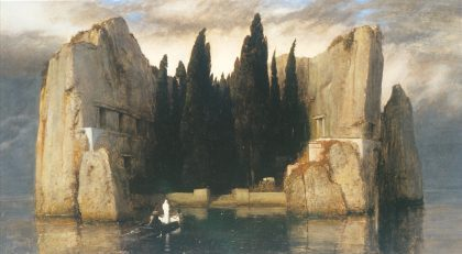 Arnold Bocklin's Isle of the Dead