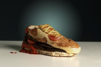 Nike Air Max 90 Burger, by Olle Hemmendorff