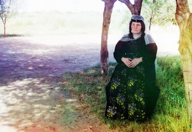 Turn-of-the-century Russian colour photo
