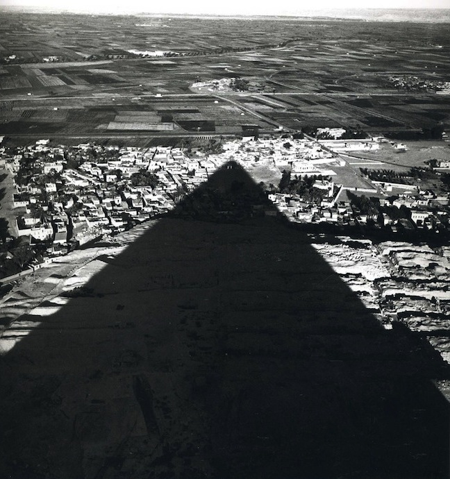 Lee Miller - 'From the Top of the Great Pyramid'