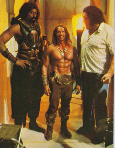 Schwarzenegger and friends